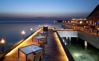 FISH Restaurant at W Maldives resort