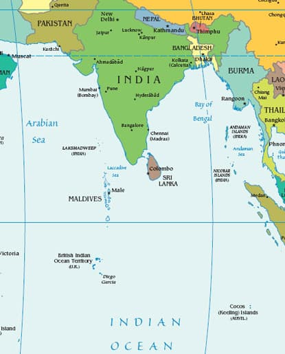 maldives on worldmap