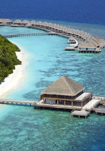 dusit thani maldives resort aerial2