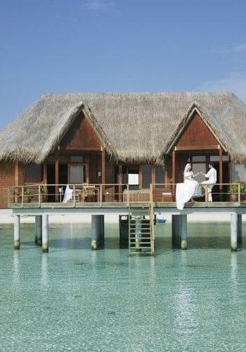meeru island resort honeymoon suite exterior