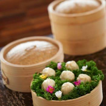 steamed dumplings at ufaa